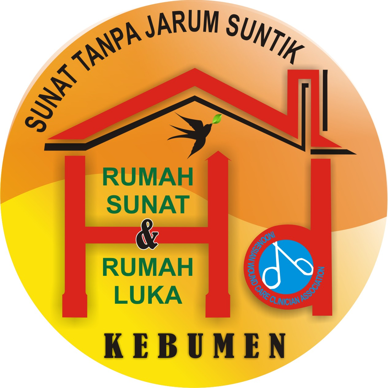 rumah sunatan rumah rawat luka modern 2012 kebumen jawa tengah indonesia